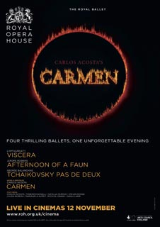Viscera / Afternoon of a Faun / Tchaikovsky pas de deux / Carmen  (Live) - Royal Opera House 2015/16